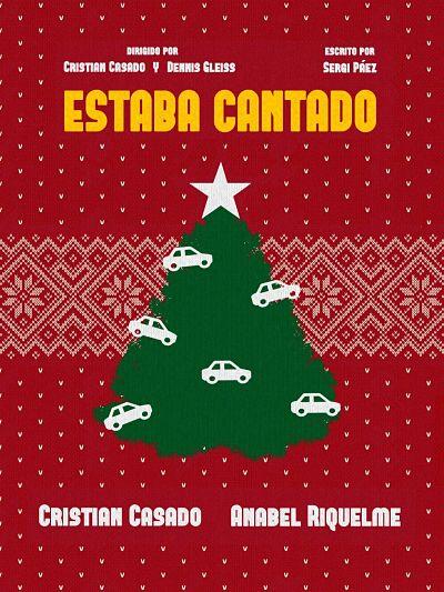 Cartel de Estaba Cantado, cortometraje de Cristian Casado